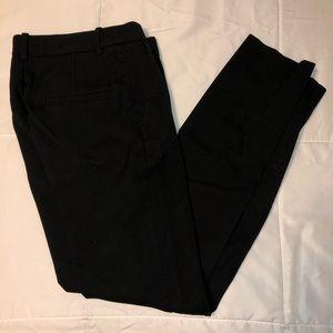 Black Slim Fit Dress / Work Pants From H&M